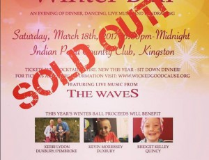 The Winter Ball Event, Sold Out under 3 hours of ticket release